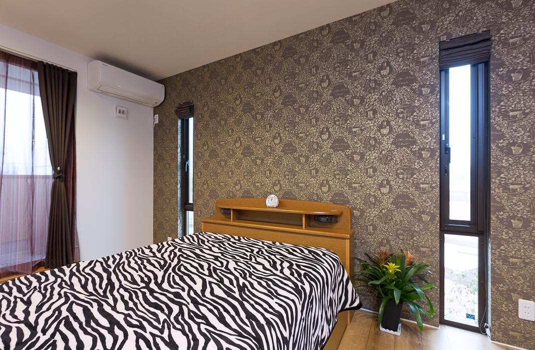 つくばみらい市で地震に強い家の寝室