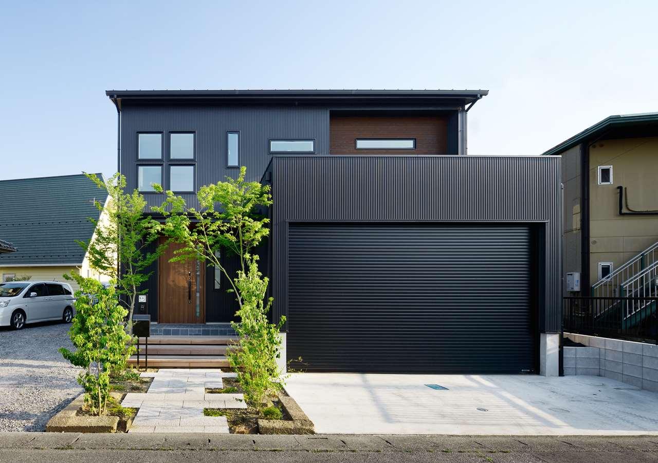 龍ヶ崎市の新築一戸建てのシャッター