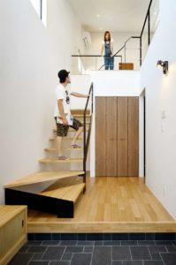 龍ヶ崎市の新築一戸建ての階段