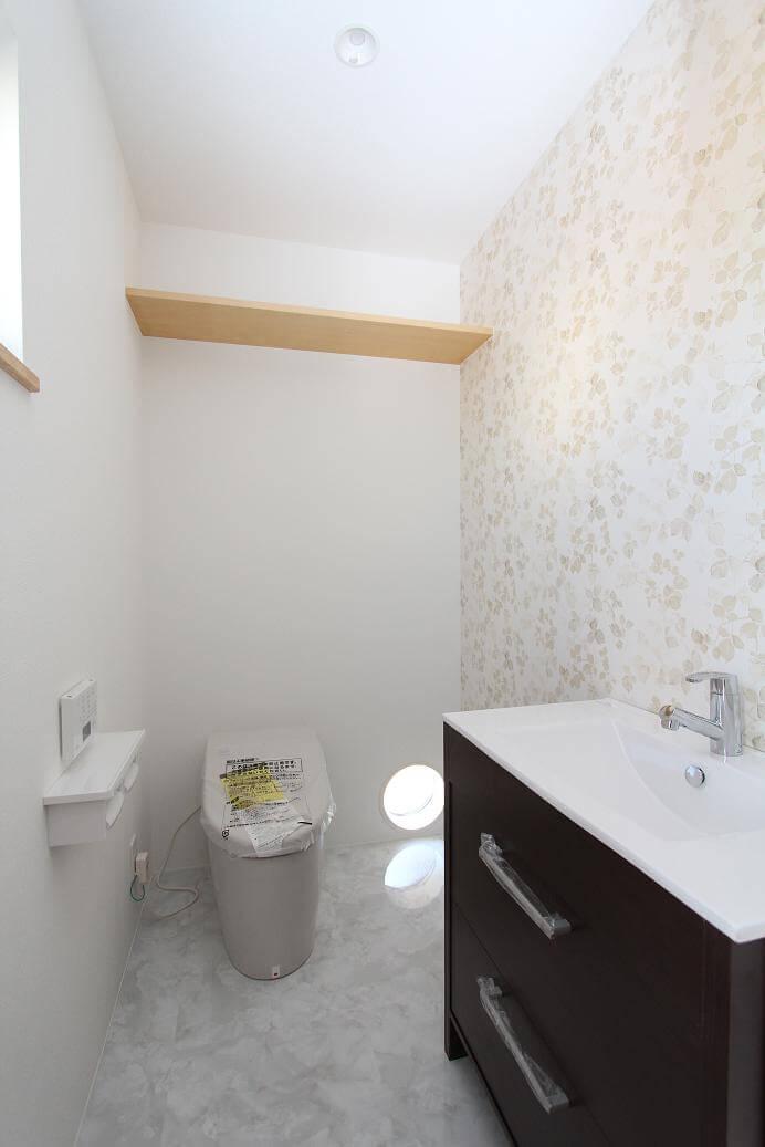 つくばみらい市で地震に強い家のトイレ