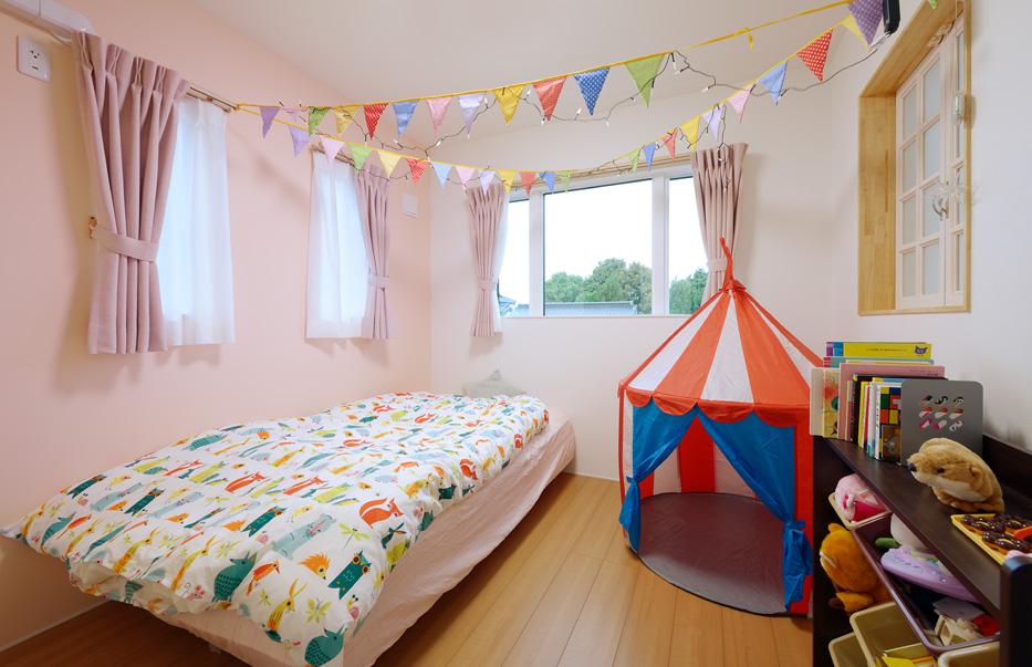 つくばみらい市の新築一戸建ての子供部屋
