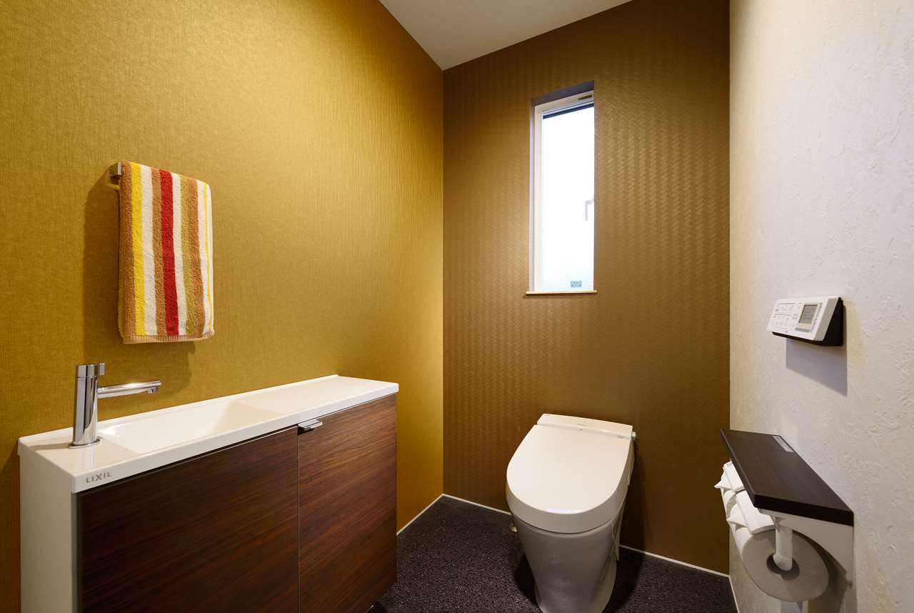 龍ヶ崎市の新築一戸建てのトイレ