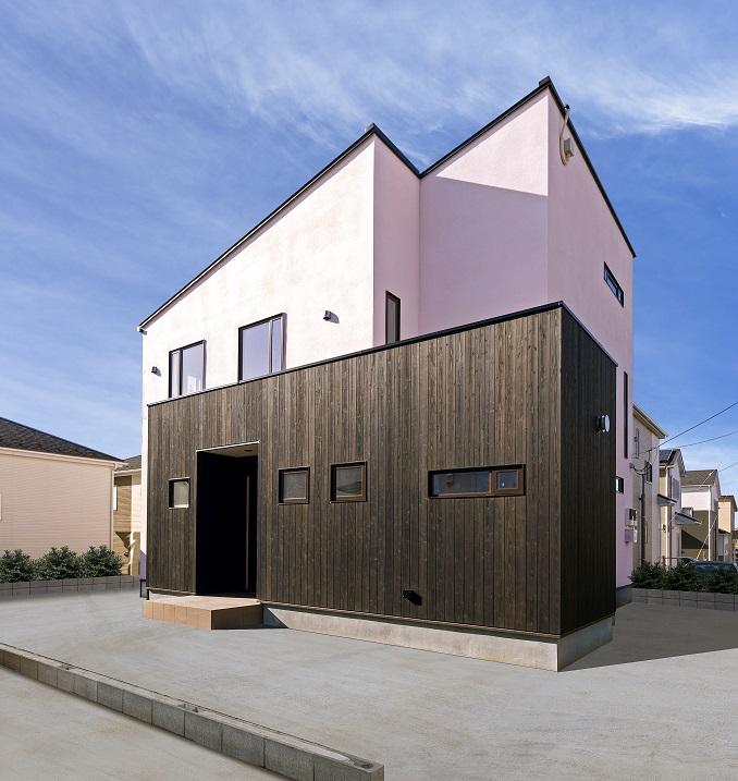 龍ヶ崎市の新築一戸建ての外観