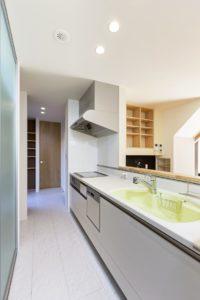 龍ヶ崎市の新築一戸建てのキッチン