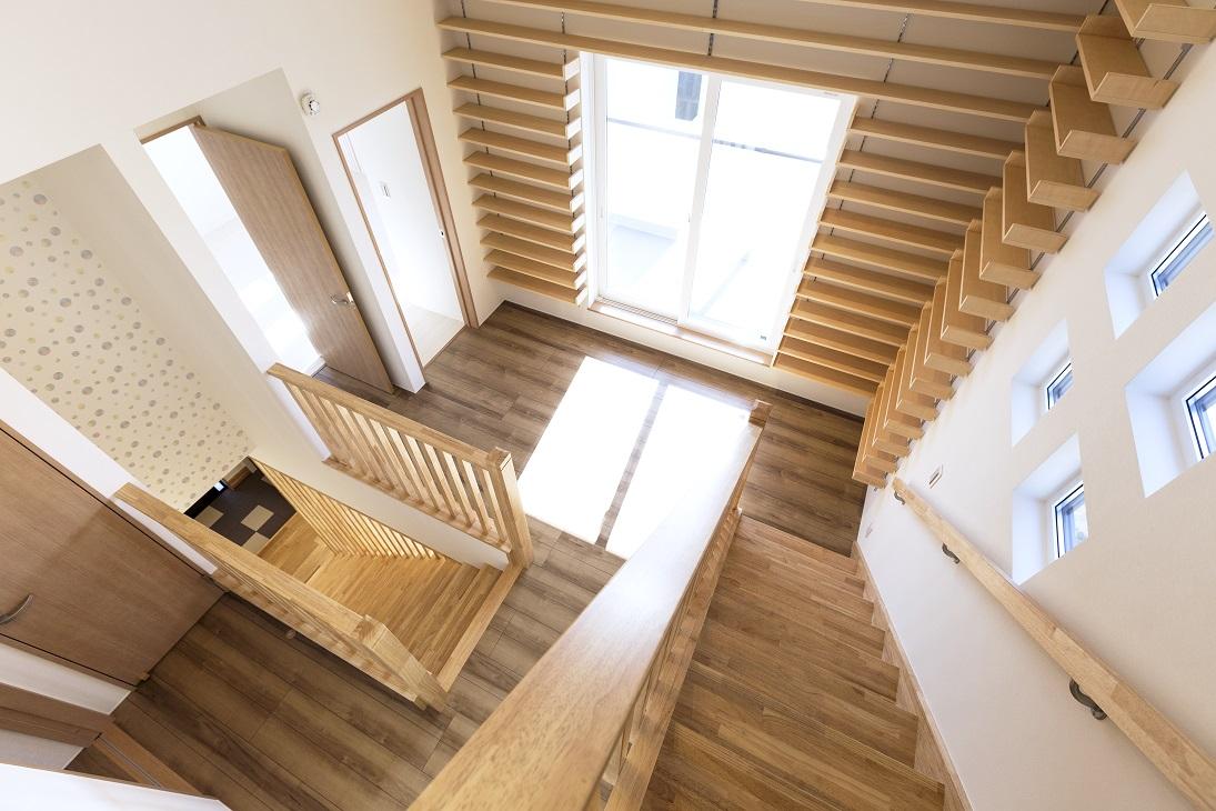 龍ヶ崎市の新築一戸建ての二階