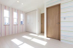 龍ヶ崎市の新築一戸建てのこども部屋