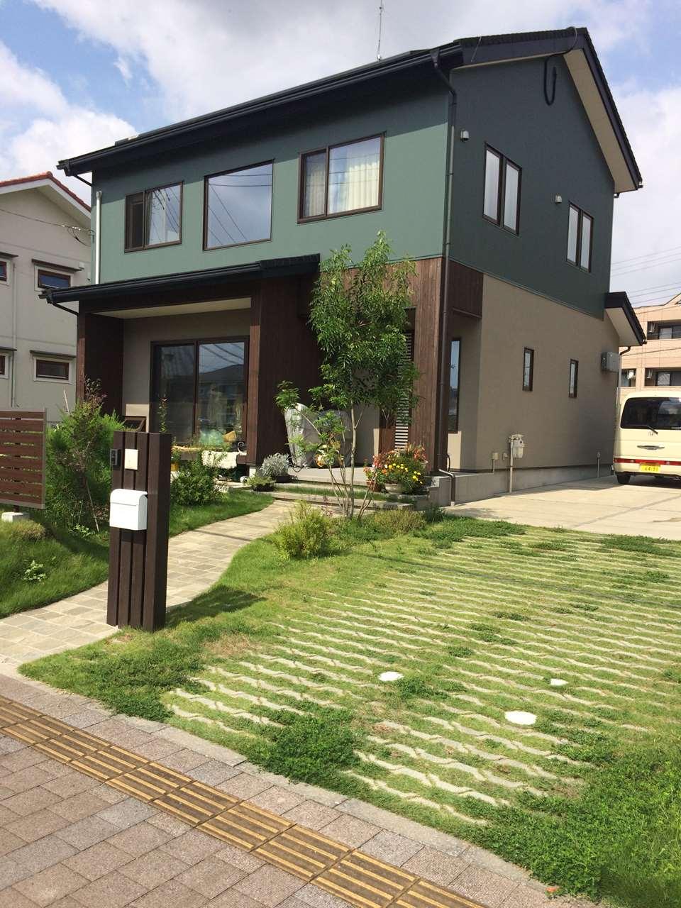 つくばみらい市の新築一軒家の外観