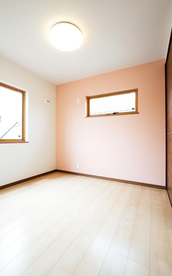 つくばみらい市の新築一軒家の寝室