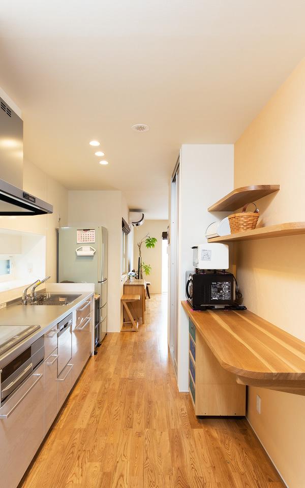 笠間市の新築一戸建てのキッチン