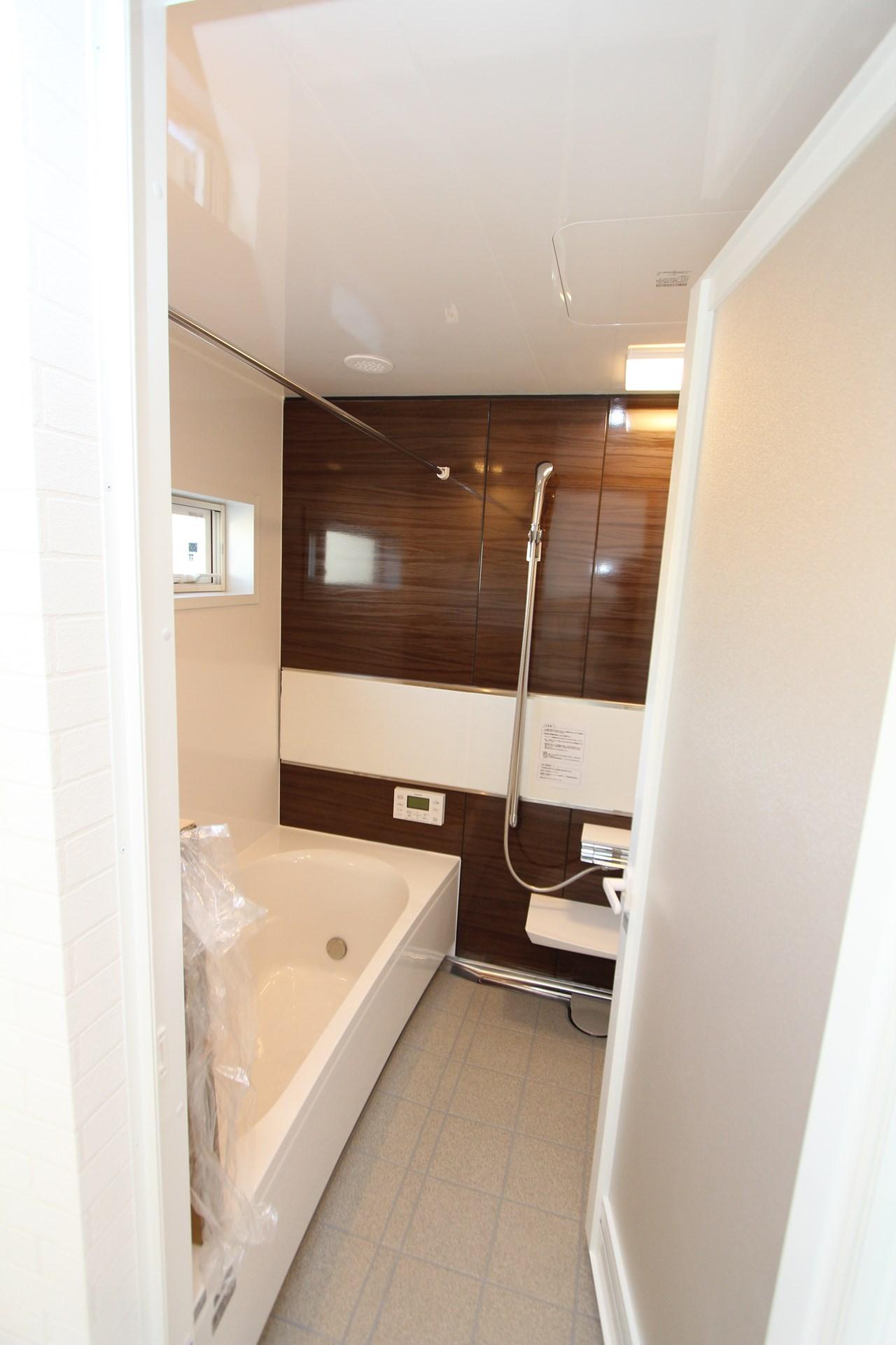 石岡市の新築一戸建ての浴室