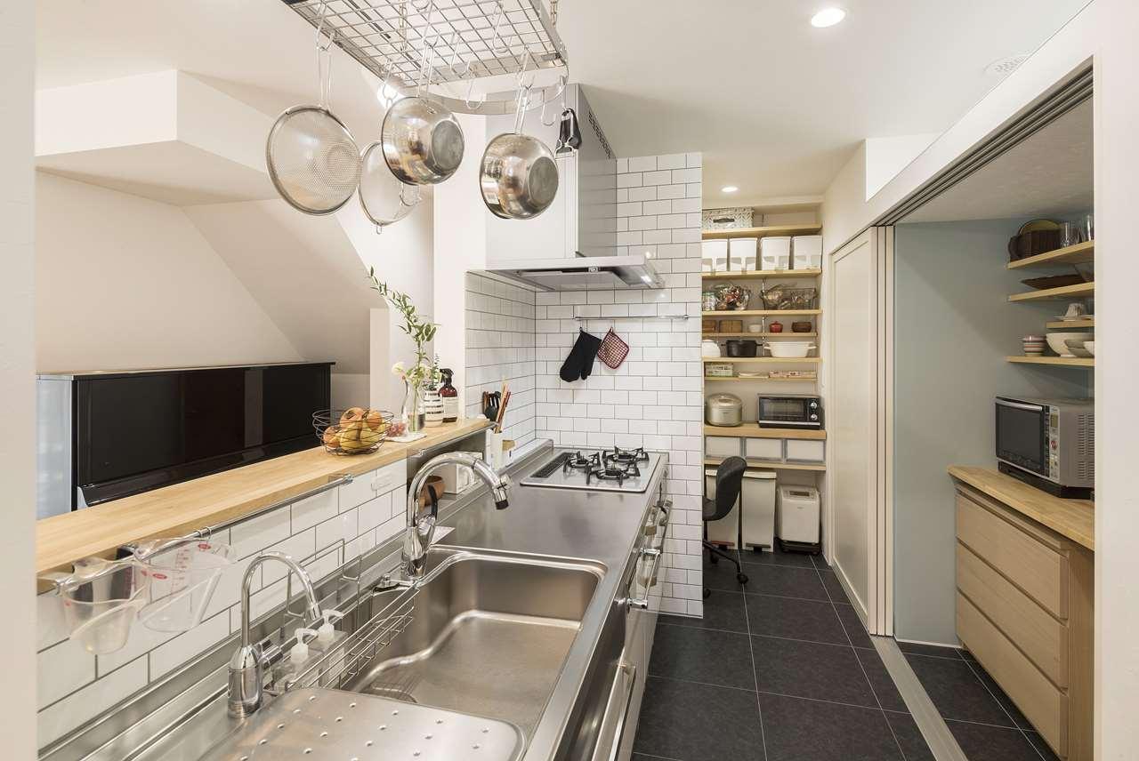 つくば市の新築一戸建てのキッチン