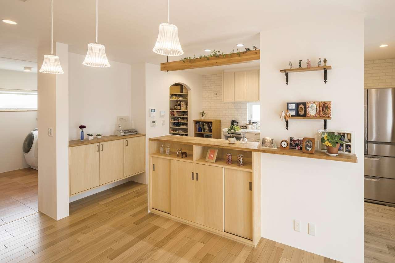 取手市の新築一戸建てのキッチン