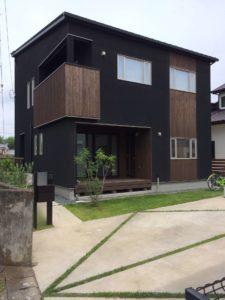 土浦市の新築一戸建ての外観