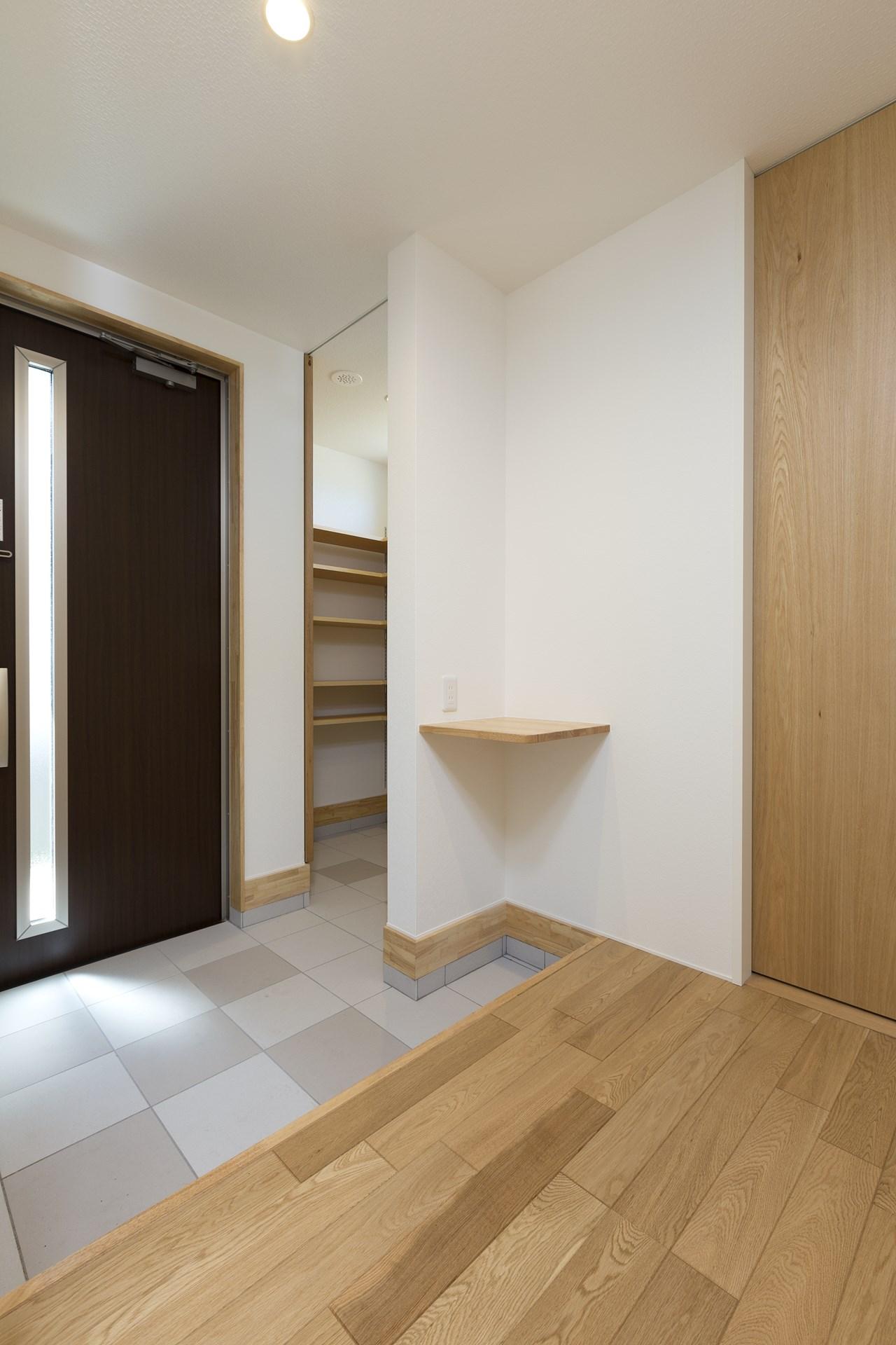土浦市の新築一戸建ての玄関