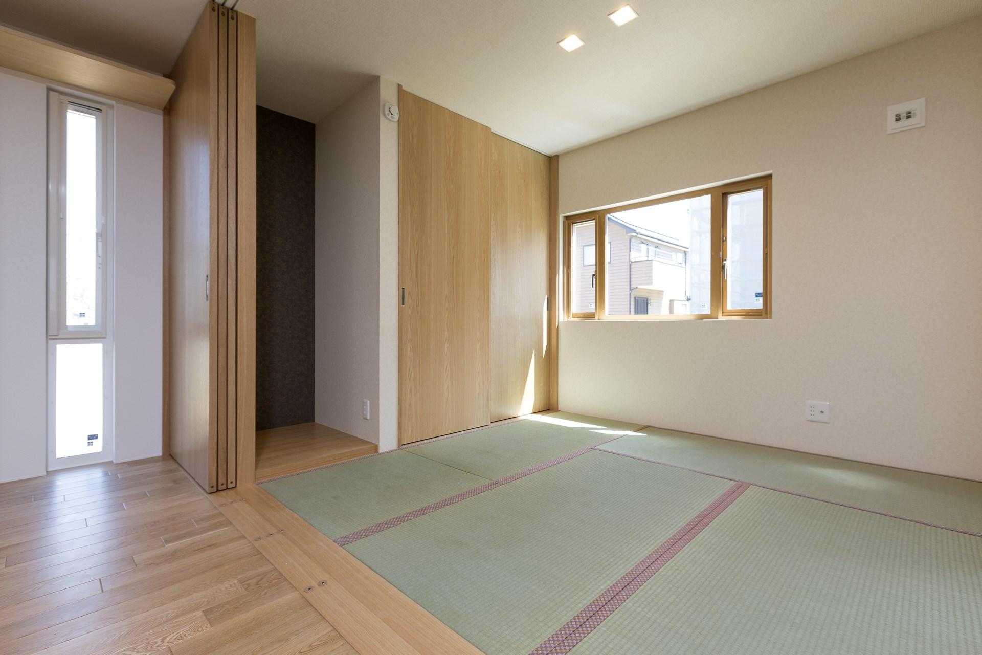 土浦市の新築一戸建ての和室