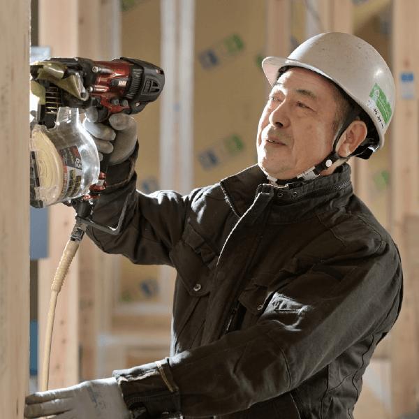 つくばみらい市で新築を建てる工務店の大工~風山~