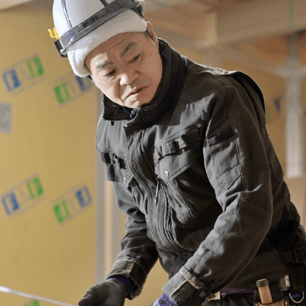 つくばみらい市で新築を建てる工務店の大工~奥山~